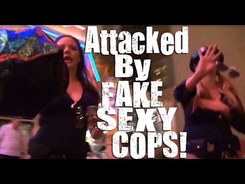 Attacked By Fake sexy Cops video