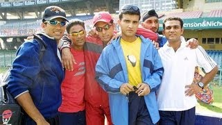 The Unseen Pictures of Indian Cricketing Greats