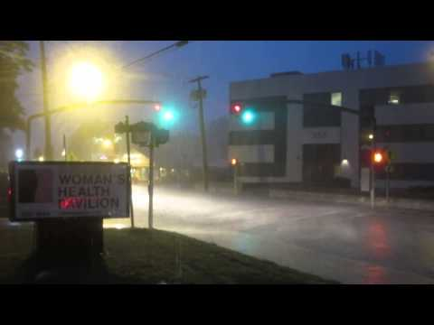 Severe Thunderstorm strikes Westbury: July 2, 2014 8pm