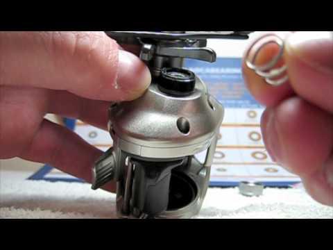 Fishing report - Shimano Citica Boca Spool Bearing Upgrade (TeamRippnLipz1) Video