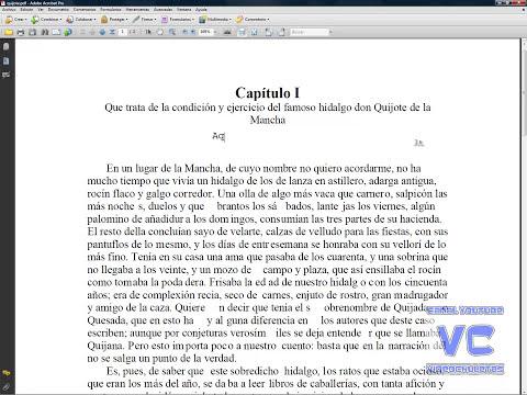 Modificar, añadir y retocar archivos PDF