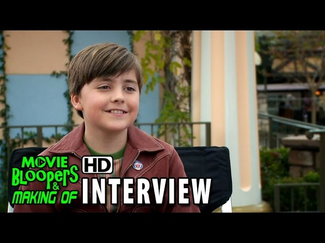Tomorrowland (2015) Behind the Scenes Movie Interview - Thomas Robinson (Young Frank Walker)