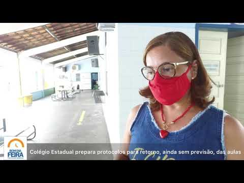 Colégio Estadual prepara protocolos para retomar aulas