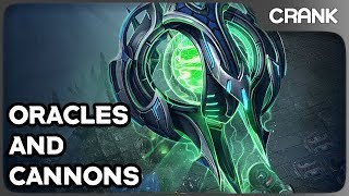 Oracles and Cannons - Crank's StarCraft 2 Variety!