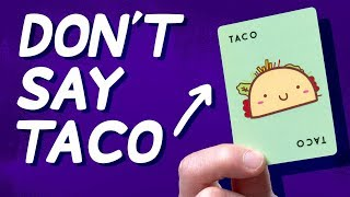 This Game is a Tongue Twister For Your Brain (Let's Play: Taco Cat Goat Cheese Pizza)