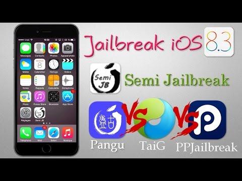 Semi Jailbreak iOS 8.3 / Jailbreak iOS 8.3 / iOS 8.4 - Pangu / TaiG / i0n1c / PPJailbreak / WWDC !!