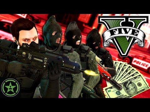 Let's Play: GTA V - Pacific Standard: Heist - Criminal Masterminds (Finale)