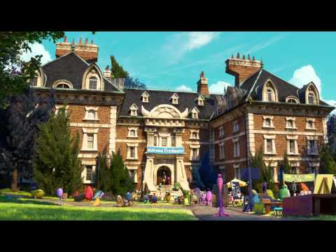 Monsters University - Trailer #2 Doblado Al Español
