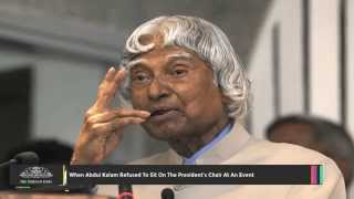 When Abdul Kalam Refused To Sit On The President