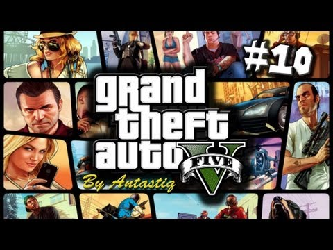 "Grand Theft Auto 5 (GTA V) - Part 10 ""Porn, Porn, Porn!"" / Gameplay Walkthrough [48h Marathon]"