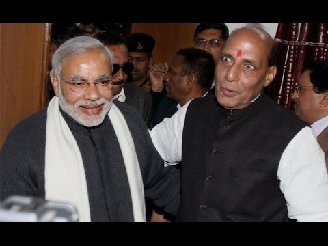 Narendra Modi's the only PM candidate: Rajnath Singh