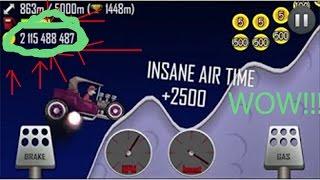 Hill Climb Racing INSANE MONEY GLITCH & Gameplay!!!