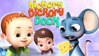 Hickory Dickory Dock | Baby Ronnie Rhymes | Nursery Rhymes & Kids Songs | Videogyan 3D Rhymes