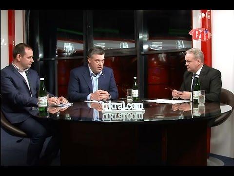 """Олег Тягнибок та Руслан Марцінків у програмі """"Новий погляд"""""""