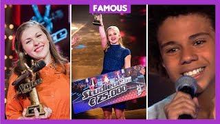 Hoe gaat het nu met deze winnaars van The Voice Kids?