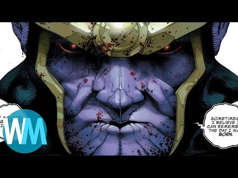 Top 10 Worst Things Thanos Has Ever Done
