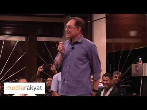 "Anwar Ibrahim: Ucapan ""Meet Anwar"" Kuala Lumpur 2018"