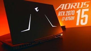【Jing】RTX電競筆電加量不加價? 技嘉 AORUS 15 (RTX 2070) 開箱測試   搭載windows10 Azure AI
