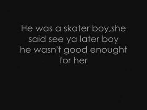 Avril Lavigne - Skater Boy lyrics. Music Videos
