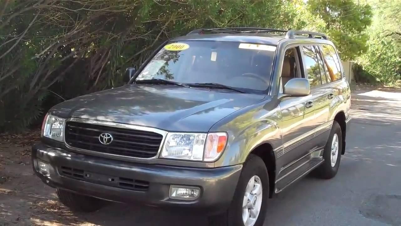 2000 Toyota Land Cruiser 4x4 Sn 17805 Youtube