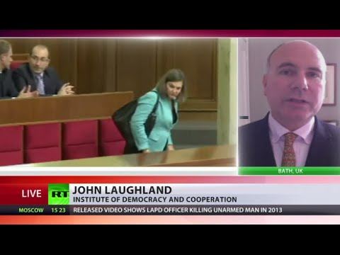 Nuland watches Ukraine MPs debate constitutional reform