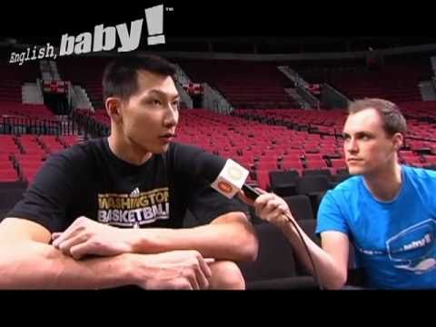 Yi Jianlian English Interview