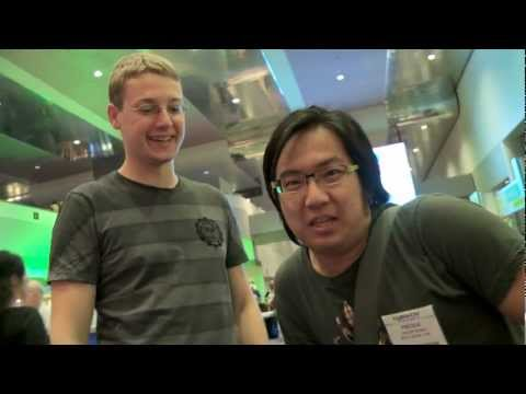 Freddie and Brandon at NAB 2012
