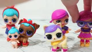Lol Pets Bälle! Spielzeug Und Puppen Spaß Eröffnung L.o.l. Überraschungstiere, Die Weinen Spucken U