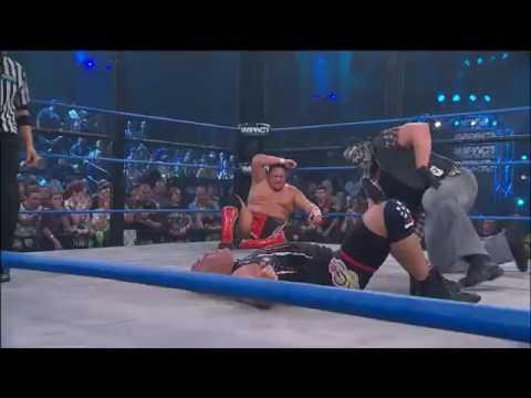 Sting Return To Save Kurt Angle TNA