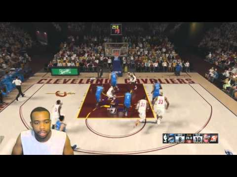 Nba 2k15 | OKC Vs Cleveland Cavaliers | Lebron James VS Kevin Durant FACECAM