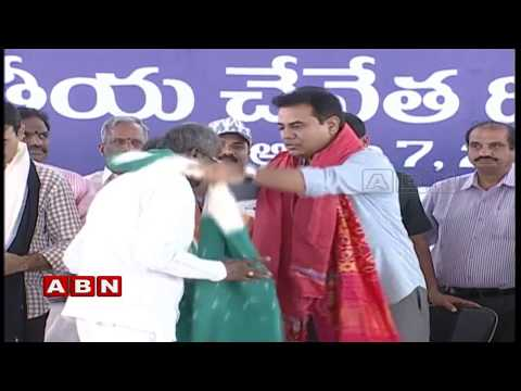 Minister KTR Participates National Handloom Day Celebrations Live | Hyderabad | ABN Telugu