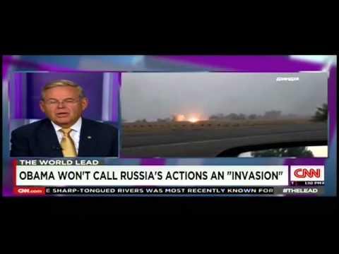 Menendez: Russian Troops in Ukraine is 'Invasion'