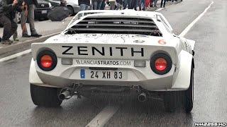 Lancia Stratos HF Rally PURE Ferrari V6 Engine Sound!