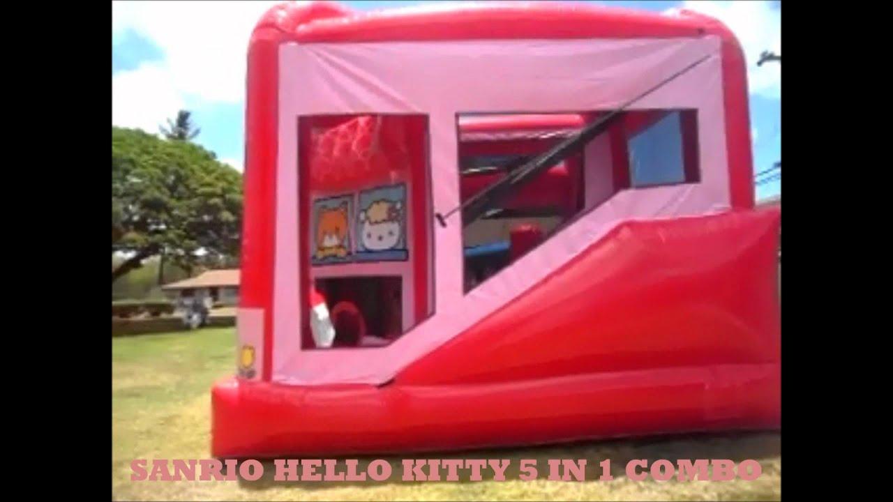 BOUNCE HOUSE & INFLATABLE RENTALS OAHU, HAWAII-HELLO KITTY ...