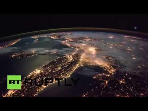 جمال الأرض من الفضاء