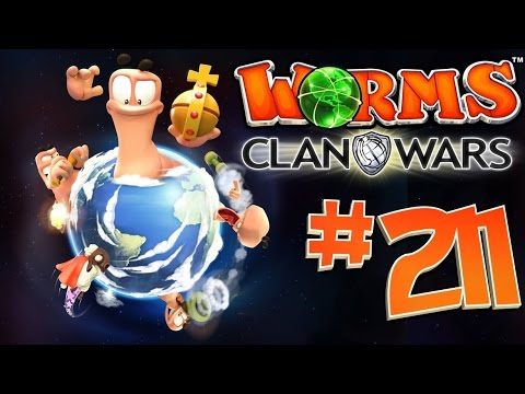 [211] Grave Situation! (Worms: Clan Wars)