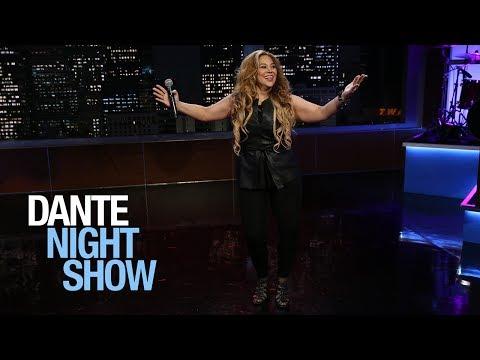 """""""Sabrosa cumbia"""" al estilo de la gran salvadoreña Elena Rivera – Dante Night Show"""