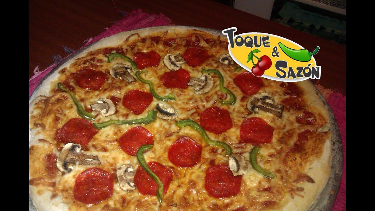 C mo hacer pizza en casa paso a paso toque y saz n for Como hacer piscicultura en casa