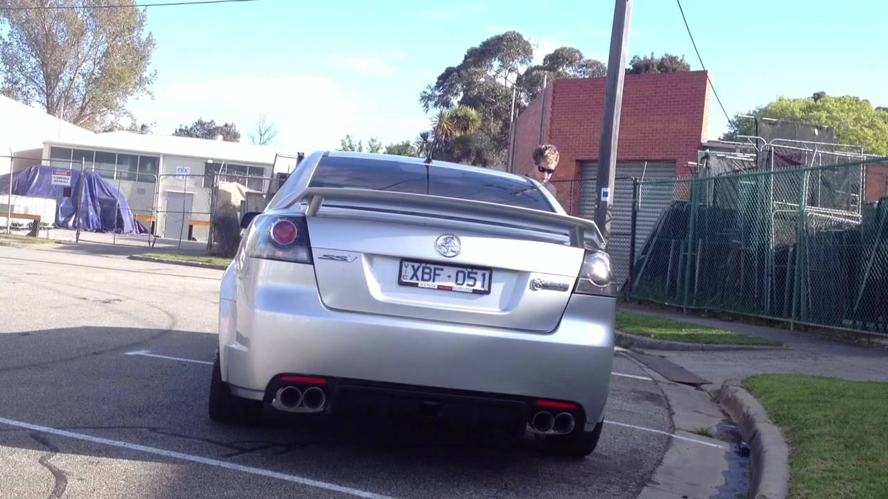 Ve ss inch exhaust