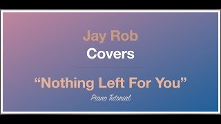 Nothing Left For You Sam Smith Piano Tutorial Lower