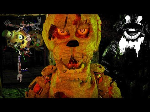 TRAPPED IN AN ANIMATRONIC PURGATORY WITH TERRIFYING NEW CREATURES.. | FNAF Dormitabis (Part 1)