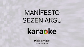 Sezen Aksu Manifesto Karaoke