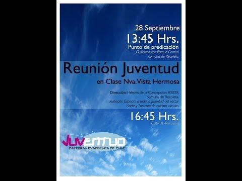 Reunión de la Juventud de la Catedral Evangélica de Chile en Clase Nueva Vista Hermosa