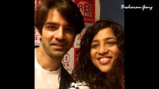 Main aur Mr Right Promo at Red FM with Barun, Shenaz and Malishka