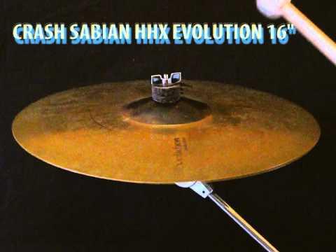 """Sabian HHX Evolution crash 16"""" cymbal"""