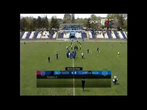Delta Tulcea - Unirea Slobozia 4-0 ~ Liga a 2-a ~ 20 aprilie 2013