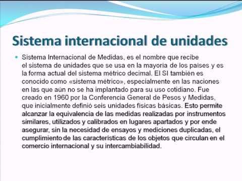 Notacion Cientifica y Sistema Internacional de Unidades