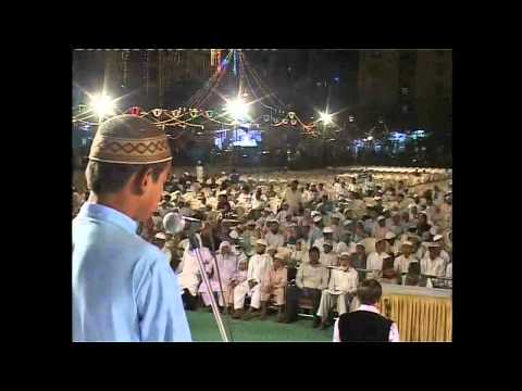 All India Naatiya Mushaira 2012 - Naat - Shahrukh Nizamuddin - Anjuman-e-mufidul-yatama video