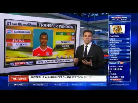 Arsenal make a £17.2 million bid for Luiz Gustavo - Skysports