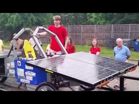 Coppell Solar Car at North Texas Renewable Energy Group Meeting